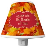 Fall Leaves Shade Night Light