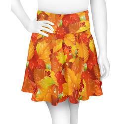Fall Leaves Skater Skirt