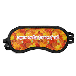 Fall Leaves Sleeping Eye Mask