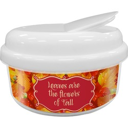 Fall Leaves Snack Container