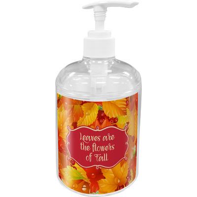 Fall Leaves Soap / Lotion Dispenser