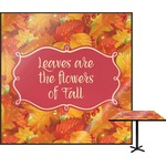 Fall Leaves Square Table Top