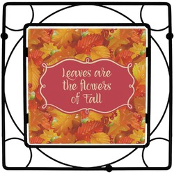 Fall Leaves Square Trivet