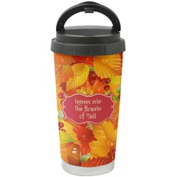 Fall Leaves Stainless Steel Coffee Tumbler