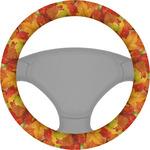 Fall Leaves Steering Wheel Cover