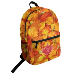 Fall Leaves Student Backpack