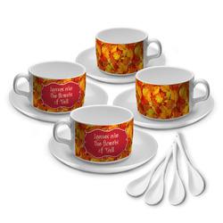 Fall Leaves Tea Cup - Set of 4