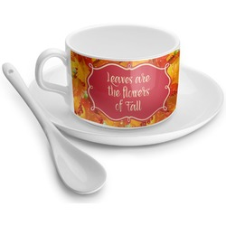 Fall Leaves Tea Cups