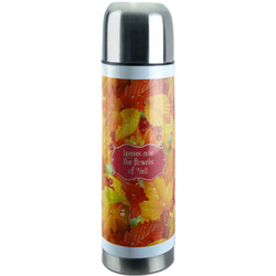 Fall Leaves Stainless Steel Thermos