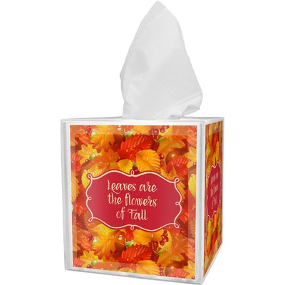 Fall Leaves Tissue Box Cover