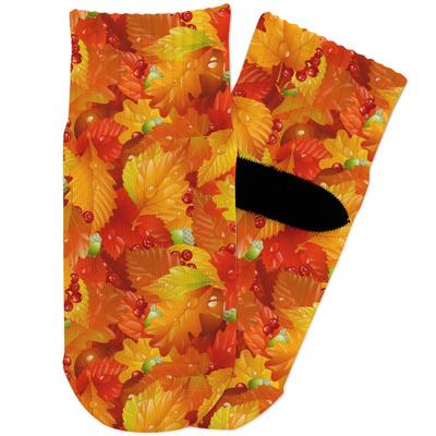 Fall Leaves Toddler Ankle Socks