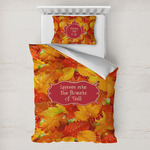 Fall Leaves Toddler Bedding