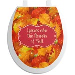 Fall Leaves Toilet Seat Decal