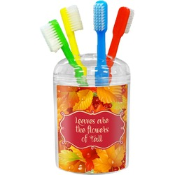 Fall Leaves Toothbrush Holder