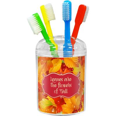 Fall Leaves Toothbrush Holder