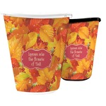 Fall Leaves Waste Basket