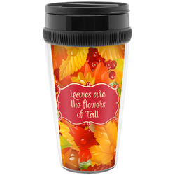 Fall Leaves Travel Mugs