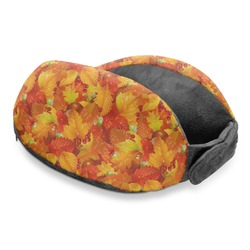 Fall Leaves Travel Neck Pillow
