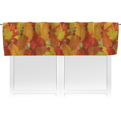 Fall Leaves Valance - Unlined