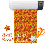 Fall Leaves Vinyl Sheet (Re-position-able)