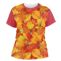 Fall Leaves Women's Crew T-Shirt