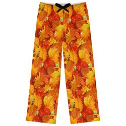Fall Leaves Womens Pajama Pants
