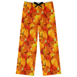 Fall Leaves Womens Pajama Pants