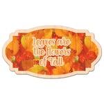 Fall Leaves Genuine Wood Sticker