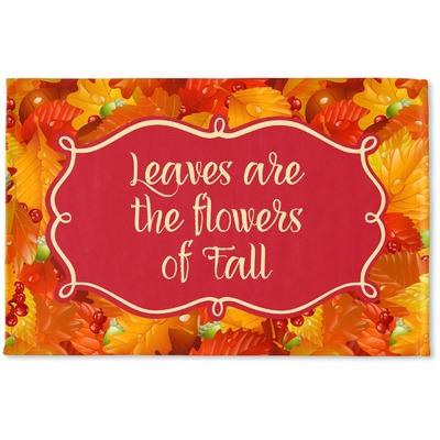 Fall Leaves Woven Mat