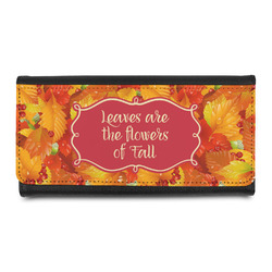 Fall Leaves Leatherette Ladies Wallet
