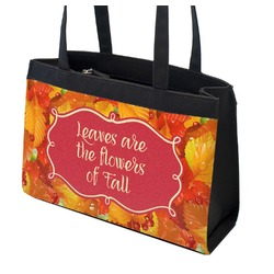 Fall Leaves Zippered Everyday Tote