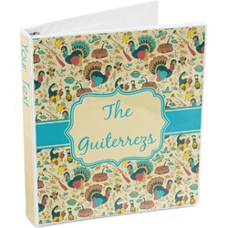 Old Fashioned Thanksgiving 3-Ring Binder (Personalized)