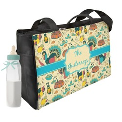 Old Fashioned Thanksgiving Diaper Bag (Personalized)