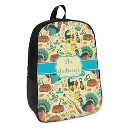 Old Fashioned Thanksgiving Kids Backpack (Personalized)