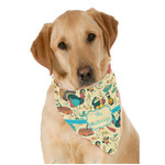 Old Fashioned Thanksgiving Dog Bandana Scarf w/ Name or Text
