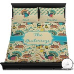 Old Fashioned Thanksgiving Duvet Cover Set (Personalized)