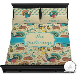 Old Fashioned Thanksgiving Duvet Covers (Personalized)