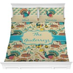 Old Fashioned Thanksgiving Comforter Set (Personalized)