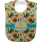 Old Fashioned Thanksgiving Baby Bib (Personalized)