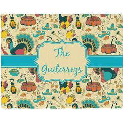 Old Fashioned Thanksgiving Placemat (Fabric) (Personalized)