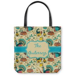 Old Fashioned Thanksgiving Canvas Tote Bag (Personalized)