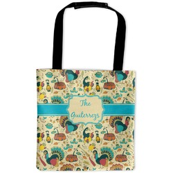 Old Fashioned Thanksgiving Auto Back Seat Organizer Bag (Personalized)