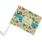 Old Fashioned Thanksgiving Car Flag (Personalized)