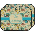 Old Fashioned Thanksgiving Car Floor Mats (Back Seat) (Personalized)