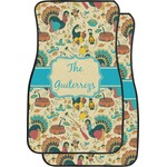 Old Fashioned Thanksgiving Car Floor Mats (Front Seat) (Personalized)