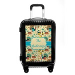 Old Fashioned Thanksgiving Carry On Hard Shell Suitcase (Personalized)