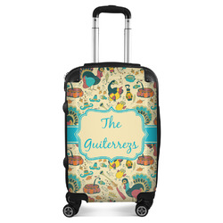 Old Fashioned Thanksgiving Suitcase (Personalized)