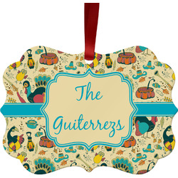 Old Fashioned Thanksgiving Ornament (Personalized)