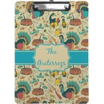 Old Fashioned Thanksgiving Clipboard (Personalized)