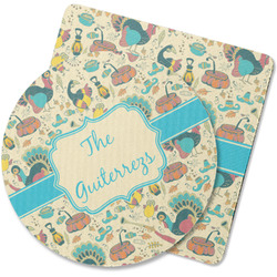 Old Fashioned Thanksgiving Rubber Backed Coaster (Personalized)